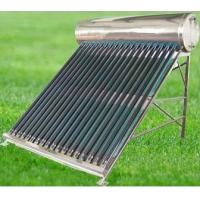 China stainless steel compact solar energy water heater wholesale