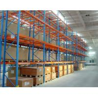 Buy cheap Warehouse Storage Heavy Duty Pallet Racking Every Layer Equipped with Pallet Support Bars from wholesalers