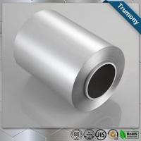 China Food Grade Coated Aluminum Strip Roll Foil Roll For Food Packaging Stable wholesale