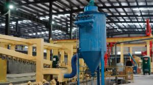 China Block Manufacturing Machine Plant Cost Bricks Making Machine Lowes-Rotary Wire Brush Side Plate Cleaning Machine wholesale