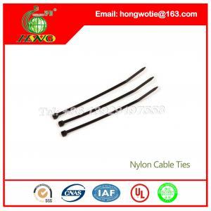 China 300mm Long Self Locking Nylon Cable Organizer Ties Black 300mmx6.4mm 100 Pcs per bag,120lb on sale