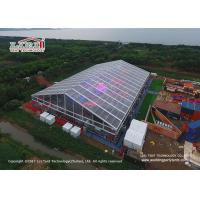 China Transparent PVC Material Outdoor Party Tents With Single - Wing Glass Door wholesale