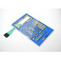 China Glossy / Matte Surface  Metal Dome Membrane Switch For Medical Instrument System wholesale