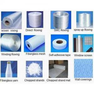 China E-glass Fiber Roving, Woven Roving, CSM wholesale