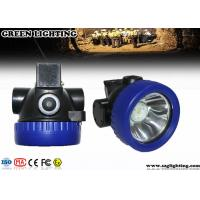 China 1 Watt CREE Cordless Mining Lights ATEX Approved 4000 Lux Brightness wholesale