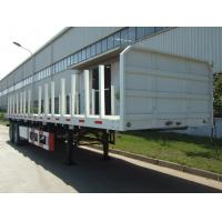 40 feet,3 axles,leaf spring suspension,twin tires,Log holder Carbon Steel Flat Bed Container Semi-Trailer  9453TJZPL