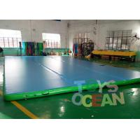 China Durable Gymnastics Air Track Inflatable Tumble Track Mat For Martial Art Sport wholesale