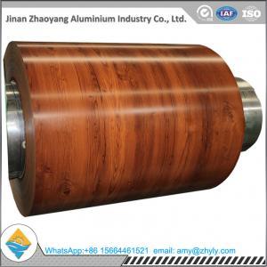 China 0.9mm 1.1mm Floor Prepainted Aluminium Coil 1100 Aluminum Alloy Weathering Resistant wholesale
