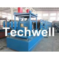 China Customized Steel Z Shaped Purlin / Z Channel Roll Forming Machine TW-Z300 wholesale