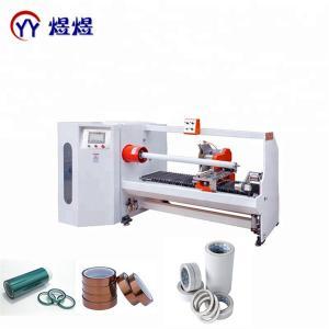 China YUYU Single Shaft PVC 1300mm Tape Roll Cutting Machine wholesale