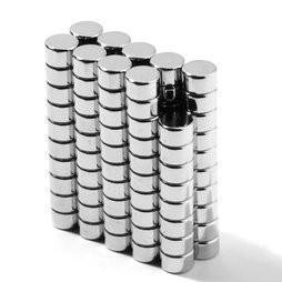 China N42 Neodymium Round/Disc NdFeB Magnets D5x3mm plating zinc wholesale