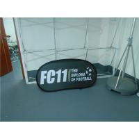 Quality Twist Up Horizontal Popup A Frame Banners Waterproof Dye Sublimation Printing for sale