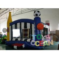 China 0.55mm PVC Vinyl Tarpaulin Inflatable Football Fan Sport Jumping Bounce For Boys Playing wholesale