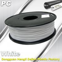 China PC Filament for Markerbot 1.75mm / 3.0mm Filament 1.3 Kg / Roll wholesale