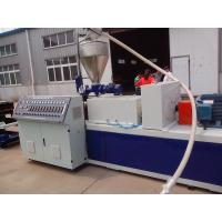 China PP / PE Electric Wire Corrugated Plastic Pipe Extrusion Line , Corrugated Pipe Extruder wholesale