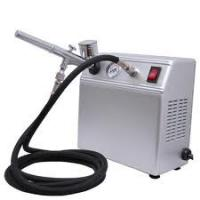 China Portable Auto Start Airbrush Tattoo Kit with Tanning Gun and Black Air Hose for Body Art wholesale