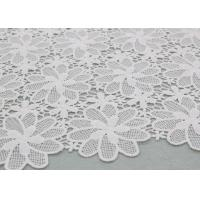 China Floral Polyester Lace Fabric Guipure French Venice Lace African Lace Dress Fabric wholesale