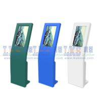 Quality Multi Color Interactive Dual Touch Screen Information Kiosk Outstanding Self Service Terminal for sale