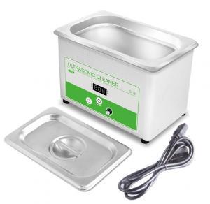 Buy cheap Mini Household Ultrasonic Cleaner , 800ML Ultrasonic Watch Cleaning Machine 35w from wholesalers