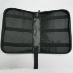 China Multi Pocket Travel Tool Bag , Black Portable Electronics Travel Organizer wholesale