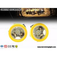 China IP68 downhole Recreation Multi purpose mining LED hard hat headlamp 200 mA  4000 Lux wholesale