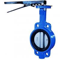 China Handle Wafer Butterfly Valve Without Pin wholesale