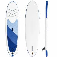 China Coursing / Yoga All Around SUP Board 240L Volume With Thin Pulled In Tail wholesale
