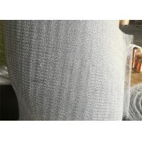 Buy cheap PTFE Mix Plastic Knitted Wire Mesh 316 Stainless Steel For Vapor - Liquid from wholesalers