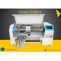 Buy cheap Advanced 4 Heads High speed Desktop pick and place machine CHMT530P4  + Yamaha pneumatic feeder from wholesalers