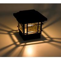 China ECO Friendly Solar Post Cap Lamp 150 Lumens Quick Installation For Garden Yard wholesale