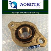 Quality Japan ASAHI KFL005 Pillow Block Bearing , Small Friction ABEC-5 for sale
