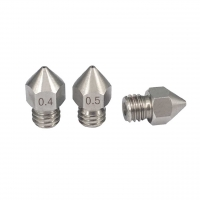 China 0.3mm 0.5mm MK8 M6 3D Printer Nozzle Stainless Steel Material wholesale