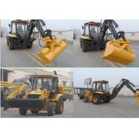 China Multi - Function Compact Tractor With Backhoe And Front End Loader For Farm wholesale
