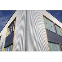 China Beautiful Custom Made PVDF Aluminium Composite Panel Sheets For Building Facade System wholesale