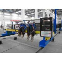 China Automatic Gantry Type CNC Flame Cutting Machine with Multi Gas Cutting Torches wholesale