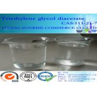 China Triethylene Glycol Diacetate Foundry Chemicals 111-21-7 C10H18O6 For Extraction Agent wholesale