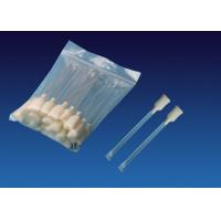 China 100 Ppi Polyurethane ATM Snap Swab 4.5'' , Rectangular Foam Tip Cleaning Swabs on sale