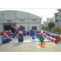 China Fun Outdoor Inflatable Paintball Bunkers Security With Customize Logo wholesale
