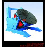 China Height Adjusting Automated Pipe Welding Positioner Turntable For Vessel Loading And Machining wholesale