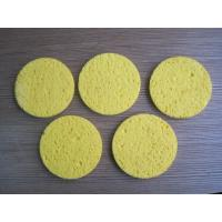 China 20 D - 40 D Density Compressed Cellulose Sponge for Bathe / Make Up / Facial Maintenance environment-friendly wholesale