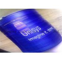 China Blue Color Metal Slinky Spring Toy For Promotional Gift Stress Relieve wholesale