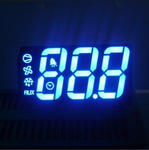 Quality High Brightness Multi color 7 Segment Display Triple Digit for Refrigerator for sale
