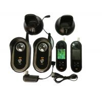 China 2.4ghz Video Door Entry Intercom Systems With 2 Monitor And 1 Camera wholesale