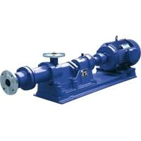 China Single Stage High Viscosity Screw Pump , Chemical Industrial Screw Pump wholesale