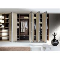 China Walk In Closet Customized Wardrobe Furniture With Accessories on sale