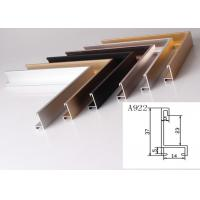 Buy cheap Anodized Aluminum Metal Picture Frame Moulding Customized Long Durability from wholesalers