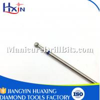 ISO Certificated Dental Drill Bits Carbide Burr Bits With Nickel Coating No Clogging