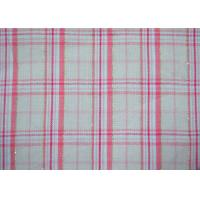 China Luxury Shiny Gold Thread Yarn Dyed Plaid Fabric Bright Colored Printing wholesale