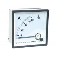 China Mini Size Electrical AC Measuring Analogue Panel Meters Ammeter 96 * 96 5 - 100A Class 1.5 wholesale