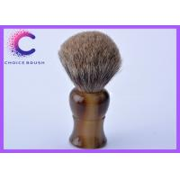 Quality High end Pure Badger Shaving Brush horn handle and badger hair knots for sale